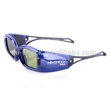 High-speed LCD shutter Active 3D glasses