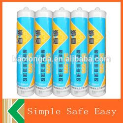 Free samples acetic silicone glass sealant aquarium silicone sealant