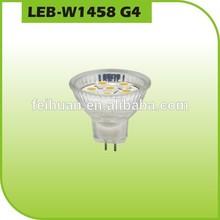 G4 socket glass body led lighting bulb