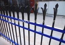 galavanizes steel ornamental fence