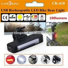 USB Rechargeable LED Bike Light, COB LED bike light,USB LED Bike rear light
