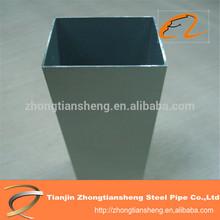 China wholesale market erw gi carbon steel pipe, welded mild galvanized steel square tube/structurer, Q195/Q215/Q345/Q235