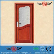 Jie Kai Modern Design paint colors wood doors / latest design wooden doors / doors wooden