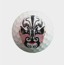 cheap golf gift ball -- custom made any logo ball