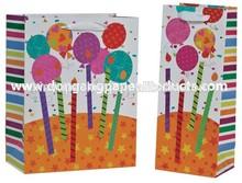 Birthday and festival handmade customized glitter bag box