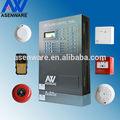 asenware fogo com fios de alarme do painel de controle