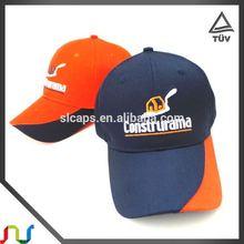 Flat Cap Wholesale High Quality Cap Yellow Basketball Logo Snap Back Cap