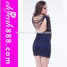 Sex beautiful mature women high quality bandage dress