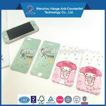 Custom mobile phone sticker, sticker for mobile phone, iphone skin sticker