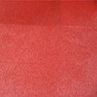 red polyester fake super soft velvet sofa fabric