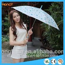 Polka Dot Umbrella EVA Cover Transparent Umbrella