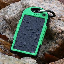 1Year Warranty Logo Custom Mobile Portable Solar Charger 5000mah
