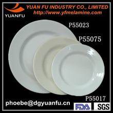 Hot custom printing plastic melamine plate