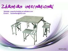 outdoor aluminium alloy folded table