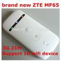nuovo zte mf65 21m 3g router wifi con slot per sim card