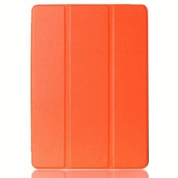Good Guality Three Folding Flip Leather Case for iPad Air 2 Case Cover