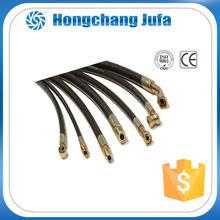 industrial black oil resistant braid rubber hose hydraulic