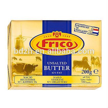 Impression personnalisée feuille d'aluminium laminé de papier beurre soiecouleurs margarine