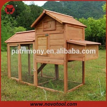 2014 Deluxe Large Wooden large animal cages for sale with double-deck