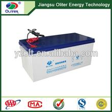 Wholesale price!AGM deep cycle solar gel battery 12V 200AH