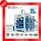 SIEMENS PLC QT8-15 fully automatic concrete interlocking brick making machine