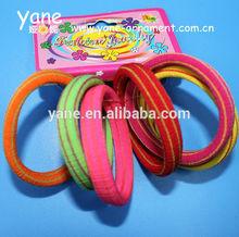 fashion big stripy hair elastics, stripy elastic hair band