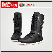 Men's Military Boots,High Heel Casual Boots
