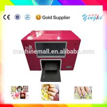 Hot vente et des prix bas imprimante à ongles numérique pour salon de beauté avec ordinateur