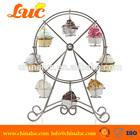 8 cupcakes metal display stand the ferris wheel cupcake stand