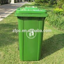 240L plastic dustbin wheelie bin waste bin
