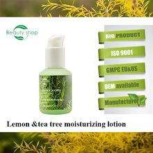 Lemon&Tea Tree the best black skin whitening and Moisturizing cream Lotion for face