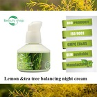 Lemon&Tea Tree beauty magic golden pearl skin whitening face night cream for men