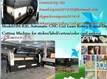 HM-R20 CNC CO2 Laser Round Die Board Cutting Machine/Die Cutter/good after-sales service