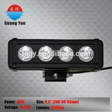 promote 40w auto led light bar , cheap car led light bar , 40w auto led light with e-mark CE