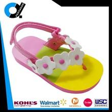 Branded High quality latest flip-flop slipper sandal with flower for girls