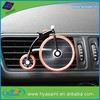 Ltd in china mainland funny bicycle shape car air freshener