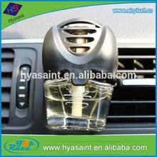 3 refills perfume glass bottle car air freshener