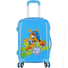 abs+pc fashion waterproof kids hard shell luggage,children cartoon luggage,kids luggage