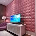 3D papel de parede interior, Visual e Hierarchal limpar papel de parede, Papel decorativo para parede