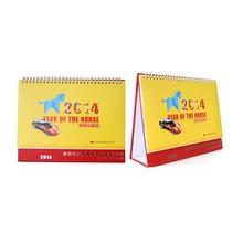 2015 wholesale cheap year photo desk calendar printing