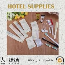 high quality ensured unique yangzhou hotel amenity shaving razor blades mini toothbrush