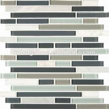 Keystone Blend Interlocking Pattern for kitchen decoration from mosaic wall tile kitchen