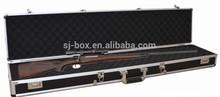 Black Carrying Locking Aluminum Gun Case