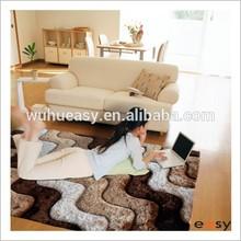 Shag 3D soft long hair home rugs for carpet dealers