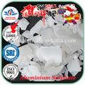 Hierro- libre/no- férrico sulfato de aluminio para tratamiento de agua