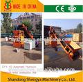 Shengya hydraform sy1-10 del suelo de cemento bloque que hace la máquina de enclavamiento estabilizado del suelo del bloque de la máquina de ladrillo lego