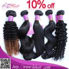 Christmas big promotion premium hair extension human hair