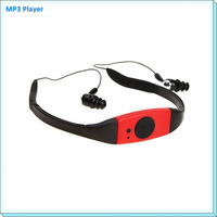 4GB Waterproof MP3 Music Player for Swimming SPA LOGO gift MP3