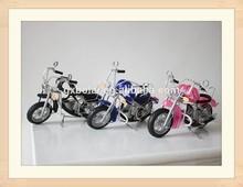 Mini Halley Motorcycle Model Metal Craft