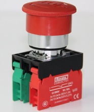Rovato vandal resistant emergency stop switch, 22mm emergency button